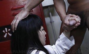 Asian Handjob Pictures